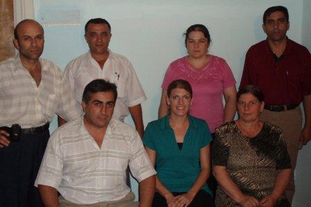 NorMicro's Agsu Staff