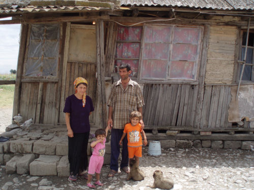 Ali Azimov and family (Agsu, Azerbaijan)