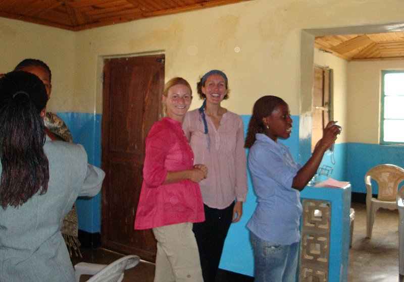 Jara and I did a joint staff training when we were both placed in Tanzania