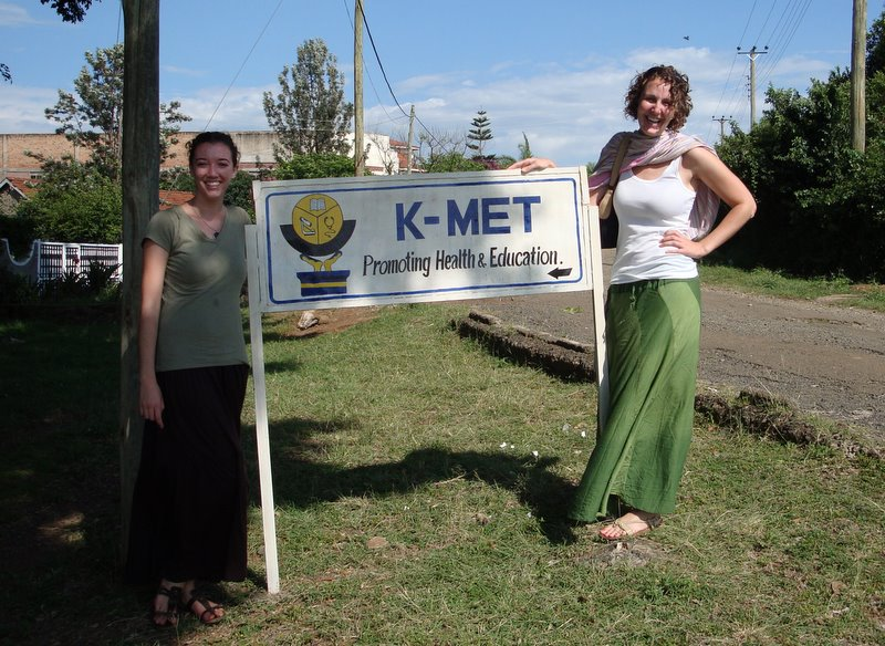 On the job in Kisumu, Kenya--I met and stayed with Sarah