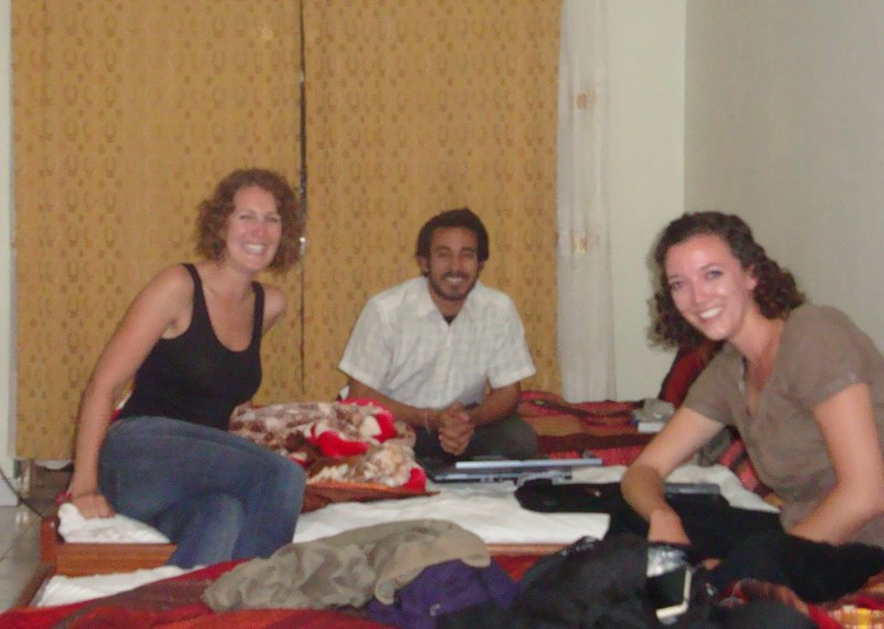 New Year's in Kigali, Rwanda--in the good company of fellow Fellows Ankush and Sarah