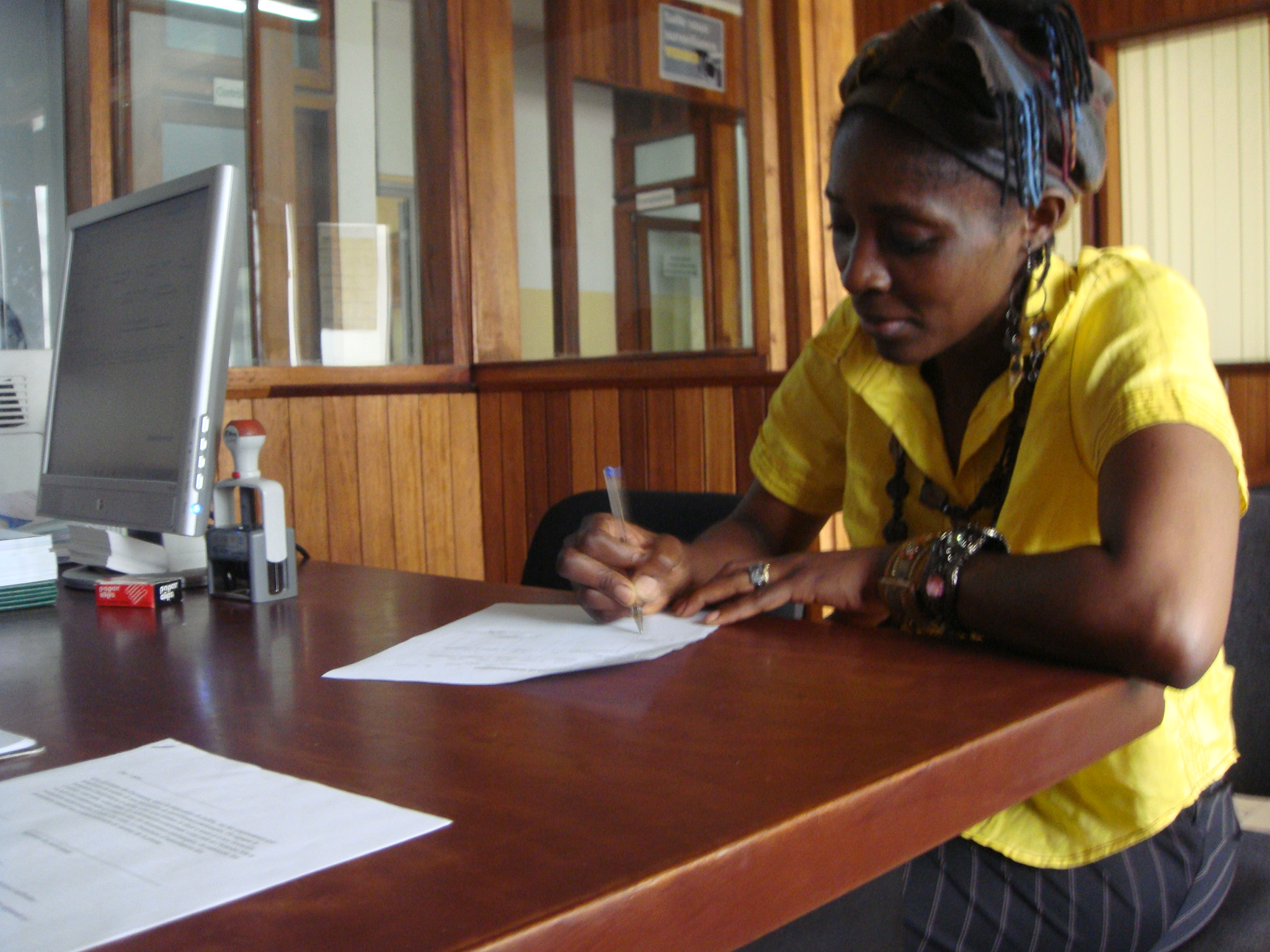 ACEP Cameroun's first Kiva borrower - Natalie Sherman, Cameroon