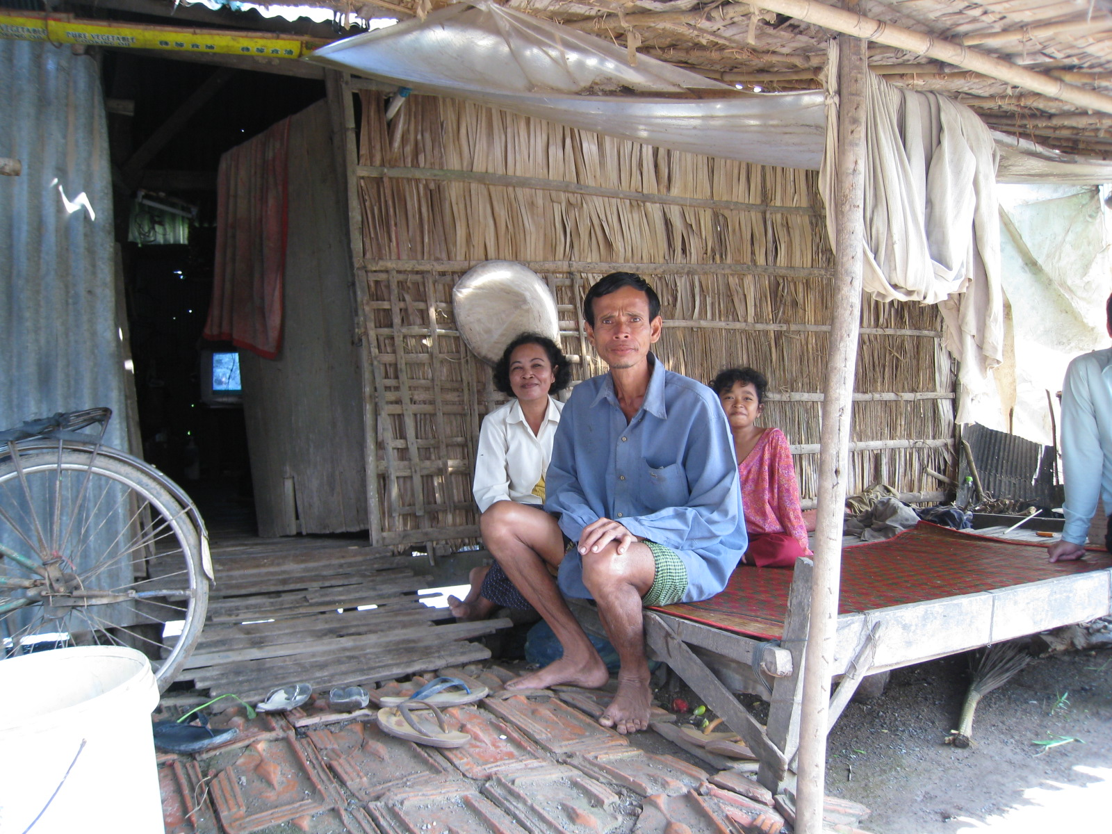 First Kiva Borrower interviewed that day.