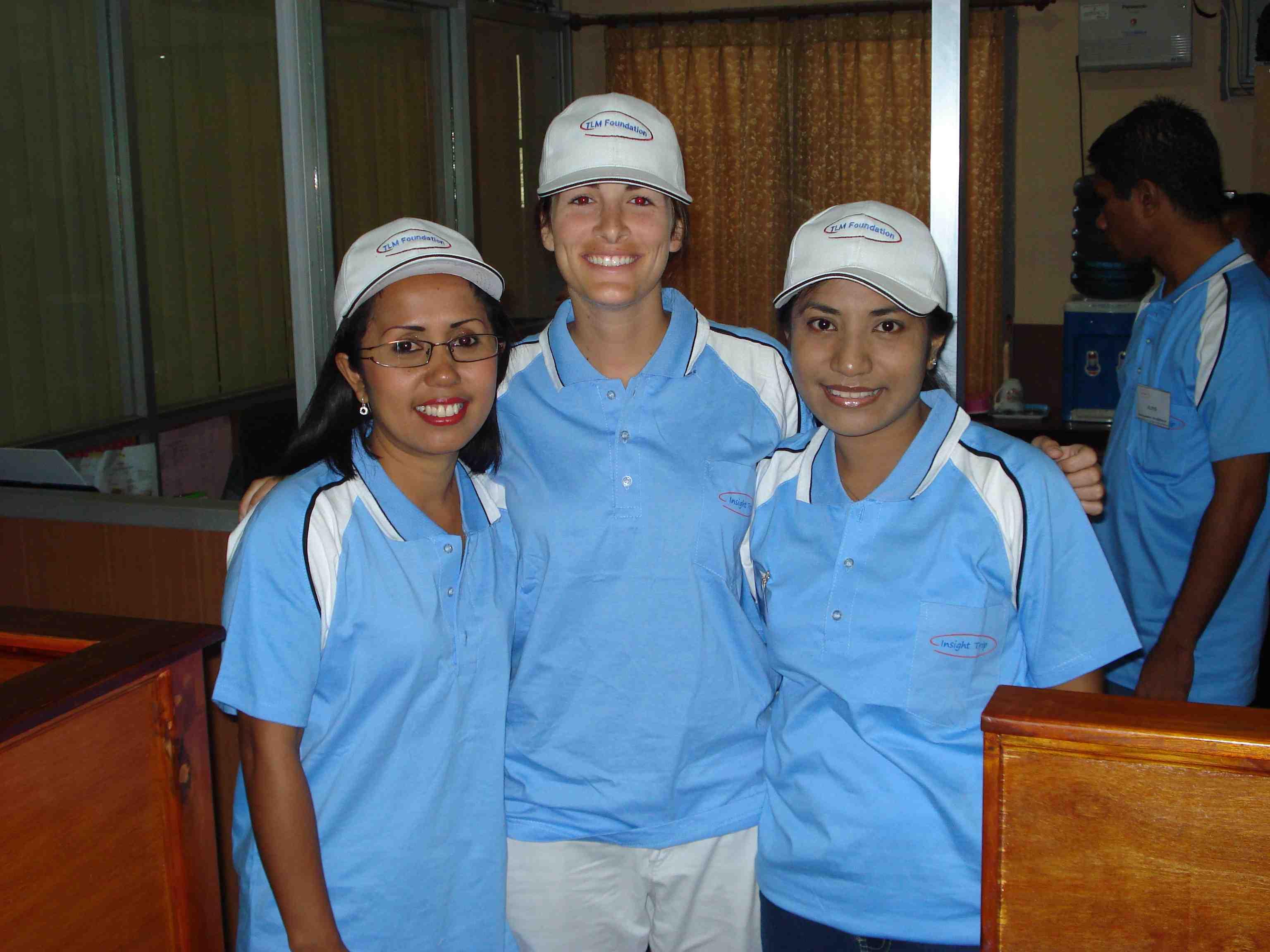 Shanty, me, Vience... Kiva girls!