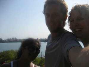 Nabomita, Zack, and Julie (KF5) in Mombasa, Kenya