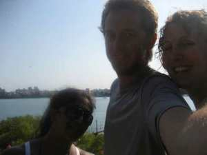 Nabomita, Zack, and Julie (KF5) in Mombasa, Kenya