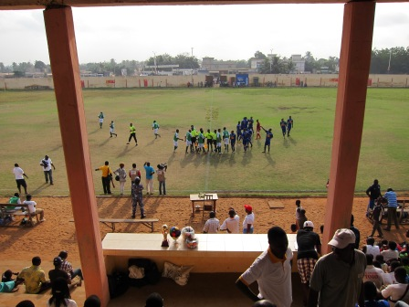 A West African football match - Michael Slattery, Togo