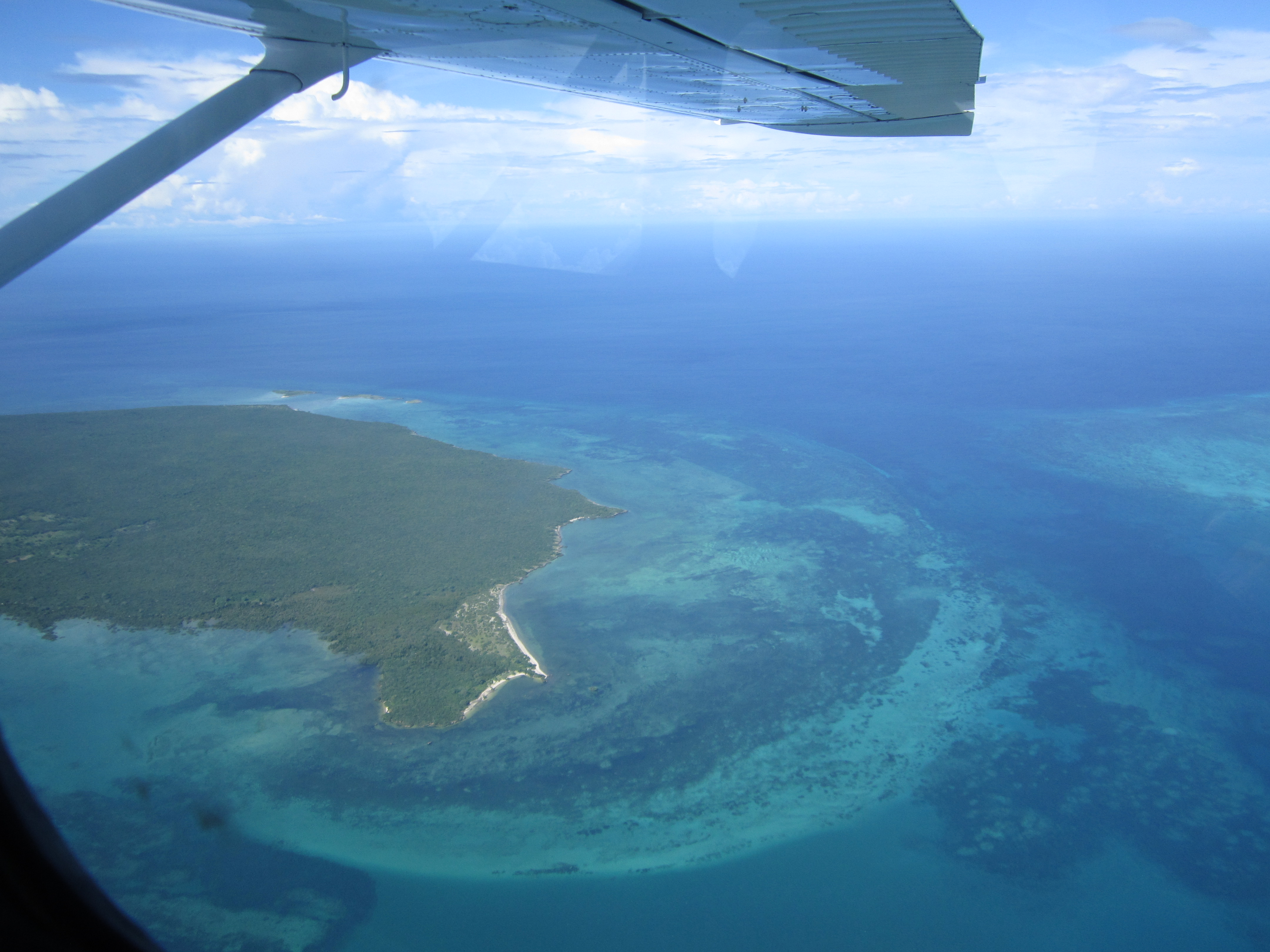 The Quirimbas Archipelago from above - Micaela Browning, Mozambique