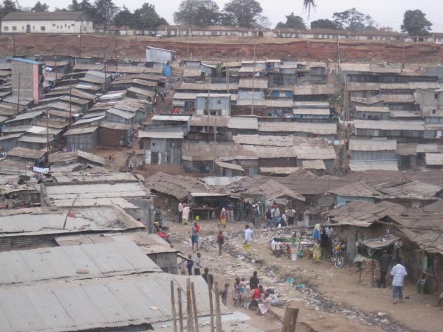 Overlooking Mathare