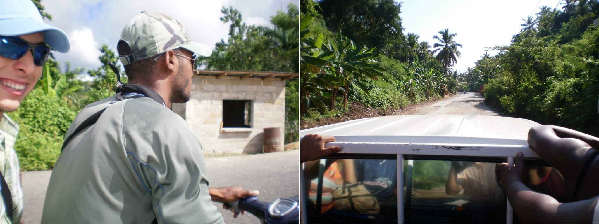 transportation in Samana