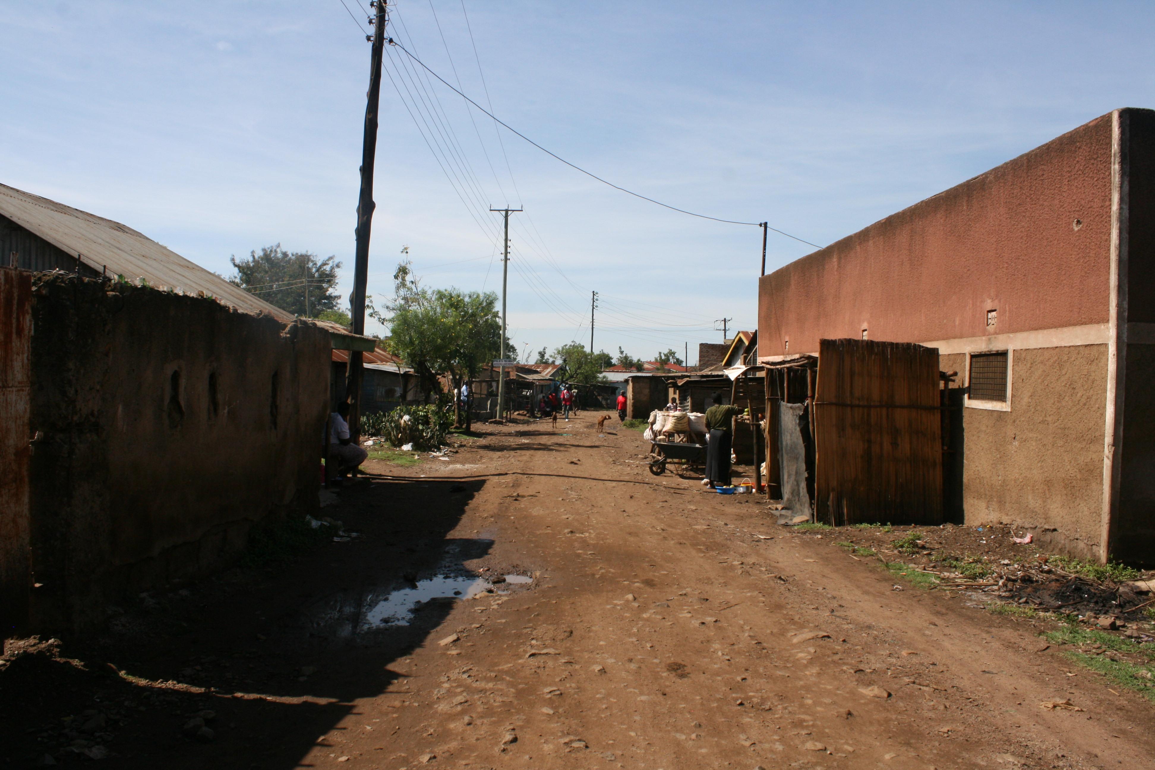 Nyalenda Slum in Kisumu, Kenya