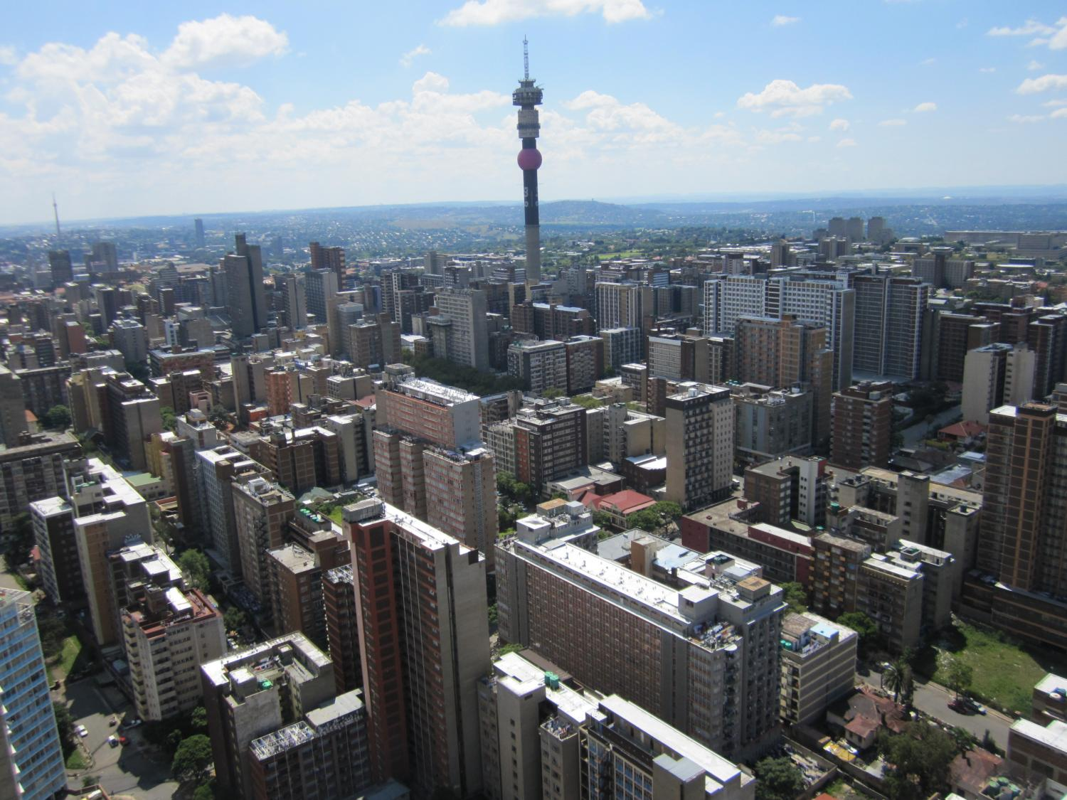 photo essay of johannesburg south africa a world class african joburg s central business district has the most dense collection of skyscrapers in africa