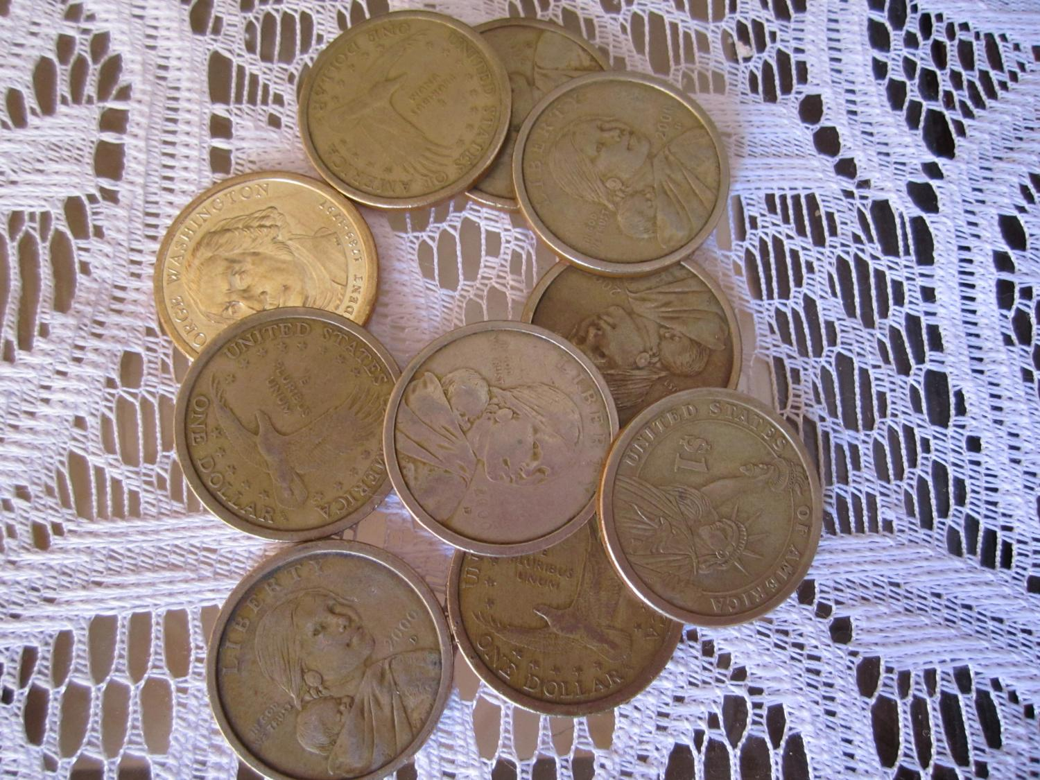 Us One Dollar Coins
