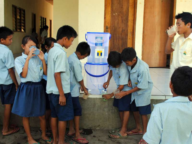 providing the world with drinking water in 400 million children (1 in 5 from the developing world) have no access to safe water 14 million children will die each year from lack of access to safe drinking water and adequate sanitation (state of the world's children, 2005, unicef.